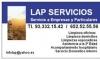 servicios limpieza Limpieza y Asisrencia Profesional de Servicios, S.L.
