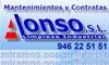 servicios limpieza MANTENIMIENTOS Y CONTRATAS ALONSO,S.L.