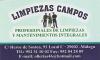 servicios limpieza LIMPIEZAS CAMPOS